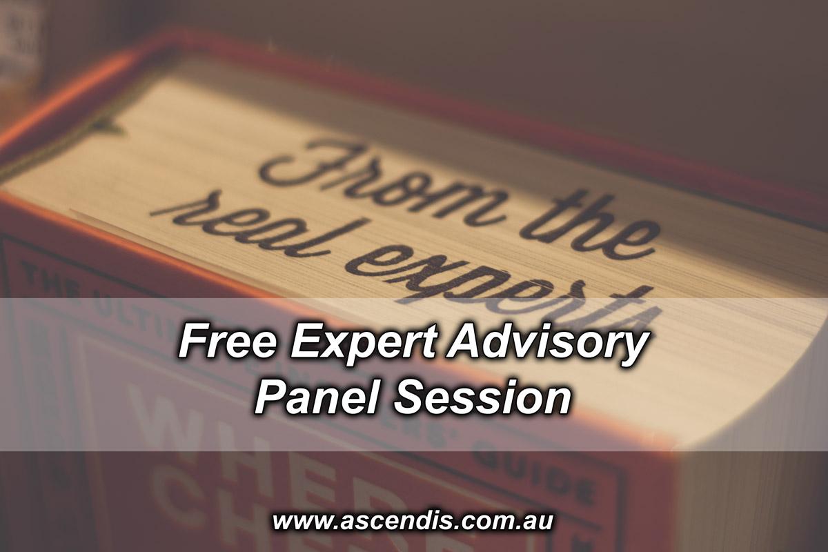 Free Expert Advisory Panel Session